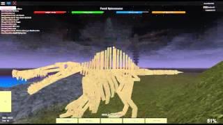 getlinkyoutube.com-Where to find all fossils (Part 1) Dinosaur Simulator