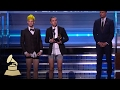 Twenty One Pilots Wins Best Pop Duo  Group Performance | Acceptance Speech | 59th GRAMMYs