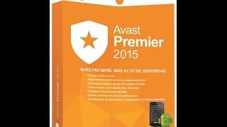 getlinkyoutube.com-Como Descargar E Instalar Avast Premier 2015 Full En Español Mas Licencia Hasta 2026