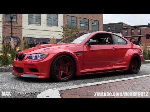 Vorsteiner GTRS3 BMW M3 Wide Body W/ Kognition Spoiler