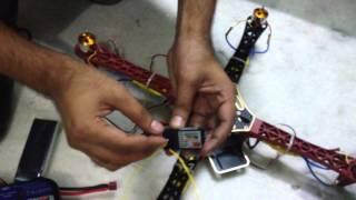 ESC Callibration Setting  Flying Controller Programming Using Flysky FSCT6B 2.4G 6CH
