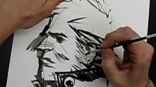 getlinkyoutube.com-Sean Gordon Murphy draws John Constantine