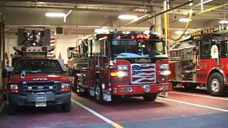 getlinkyoutube.com-Cliffside Park,nj Fire Department NEW Ladder 1