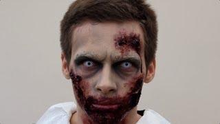 getlinkyoutube.com-Zombie Make-Up Tutorial For Halloween | SFX Zombie | Shonagh Scott | ShowMe MakeUp