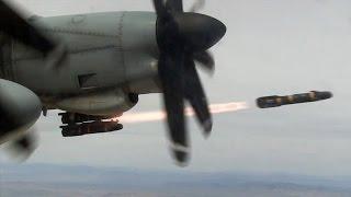 getlinkyoutube.com-ヘルファイア対戦車ミサイル発射! ガンシップ・KC-130Jハーベストホーク