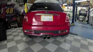 getlinkyoutube.com-Mini Cooper S, Cat-Back BORLA + AEM Intake (By MULTI HEADERS)