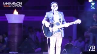 Mast Nazron Se Mashup - Zamad Baig LIVE in Karachi