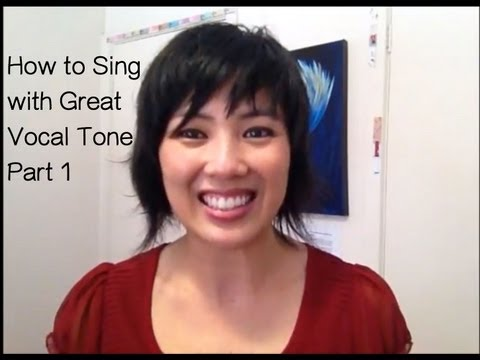 How to sing with Great Vocal Tone