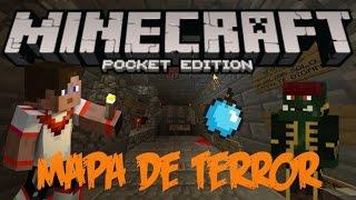 getlinkyoutube.com-MAPA DE TERROR MINECRAFT PE 0.15.0 (Mapa Para Minecraft PE)