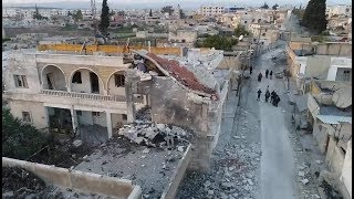 Real pictures of the destroyed Afrin today