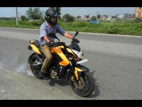 Bajaj Pulsar 200 NS Road Test And Detailed Review
