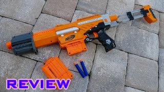 getlinkyoutube.com-[REVIEW] Nerf Elite Alpha Trooper XD Unboxing, Review, & Firing Test