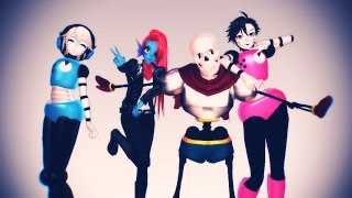 getlinkyoutube.com-【MMD x Undertale】Sweet Devil (Colate Remix)