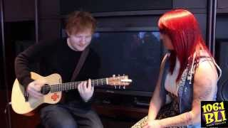 getlinkyoutube.com-Lucky Listener Sings with Ed Sheeran!!