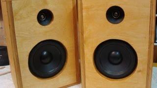getlinkyoutube.com-DIY How To Make Homemade Speakers ♪