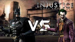 getlinkyoutube.com-Injustice Gods Among Us - Archenemies vs Heroes Lore & Skins!