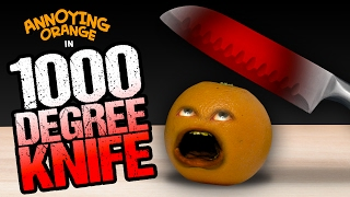 getlinkyoutube.com-Annoying Orange - 1000 Degree Knife!