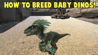 getlinkyoutube.com-How to Breed Baby Dinos! Ark Survival Evolved