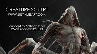getlinkyoutube.com-Creature Sculpt Concept by Anthony Jones