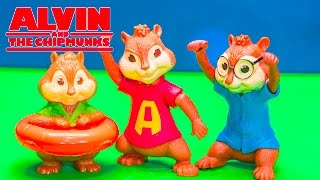 getlinkyoutube.com-ALVIN AND THE CHIPMUNKS Blind Bags SURPRISE Video + Alvin Chipmunks + Chipettes Toys Video Unboxing