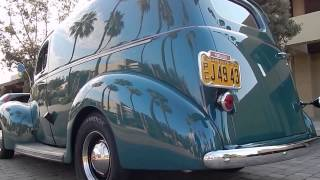 getlinkyoutube.com-1940 Ford Deluxe Sedan Delivery Resto-Rod