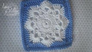 getlinkyoutube.com-Tutorial Snowflake Granny Square