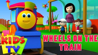 getlinkyoutube.com-Bob The Train | Wheels on the train | Wheels on the bus | Kids Songs and Nursery Rhymes