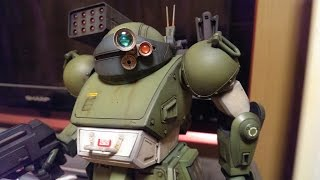 getlinkyoutube.com-装甲騎兵ボトムズ スコープドッグ 完成レビュー