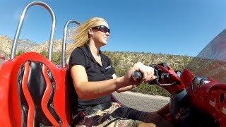 getlinkyoutube.com-Experience Beautiful Red Rock Canyon via Scooter Car