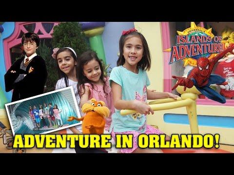 ISLANDS OF ADVENTURE!!! Universal Studios Orlando Adventure!