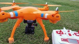 getlinkyoutube.com-SYMA X8W - AEE S71 - FULL HD