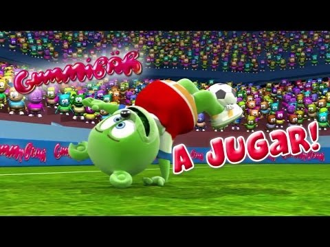 Gummibär A Jugar! World Cup Soccerfootball Song Chilean Sp