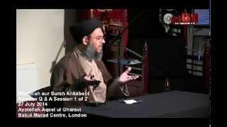 getlinkyoutube.com-Question & Answer Session - Part 1 -  Ayatollah Aqeel ul Gharavi