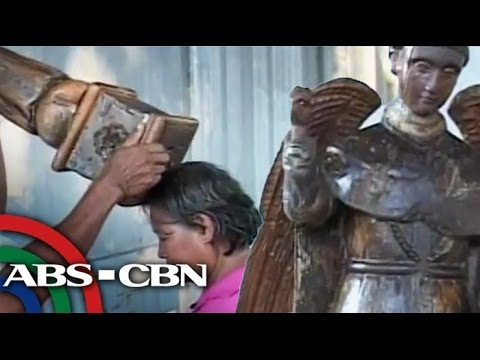San Vicente Ferrer image believed to have healing powers
