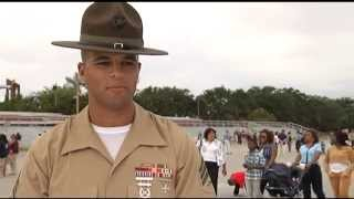 getlinkyoutube.com-Marine Corps Boot Camp-DI outtakes Parris Island