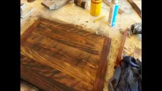 getlinkyoutube.com-Wood Finishing - Make Old Wood Look Older!