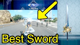getlinkyoutube.com-Final Fantasy XV: Best Sword (Ultima Blade)