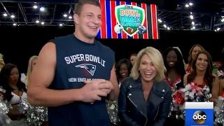 Rob Gronkowski Interview on Super Bowl 51 | GMA