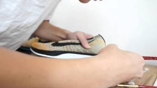 getlinkyoutube.com-Custom Timelapse + Detailed Look: Nike Flyknit Racer 'Sherbet'
