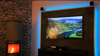 download video led tv wand selber bauen cinewall do it yourself. Black Bedroom Furniture Sets. Home Design Ideas