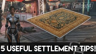 getlinkyoutube.com-Fallout 4 - 5 Useful Settlement Building Tips! (Fallout 4 Tips & Tricks)