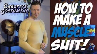 getlinkyoutube.com-How to Make a Muscle Suit! - by Creative Costuming