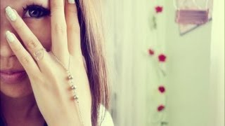getlinkyoutube.com-DIY Slave Bracelet/Ring Wrist Bracelet