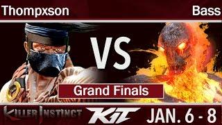 KIT17  - BH | Thompxson (Jago) vs UA | Bass (Cinder, Spinal) Grand Finals - Killer Instinct