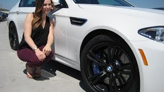 "getlinkyoutube.com-New BMW M5 Review / Black 20"" M Wheels / Exhaust Sound / BMW Review"