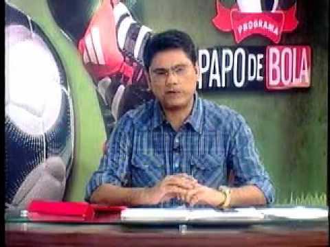 Programa Papo de Bola exibido dia 02 de abril de 2013