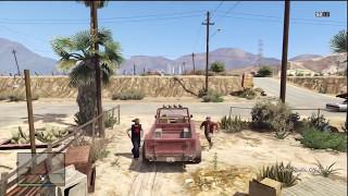 getlinkyoutube.com-GTA V - Trevor Phillips Kills Johnny Klebitz [HD]