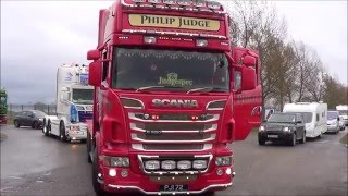 getlinkyoutube.com-TRUCKFEST 2016 PETERBOROUGH - Part 2 - TRUCKS ON THE MOVE!!! (Departures!)