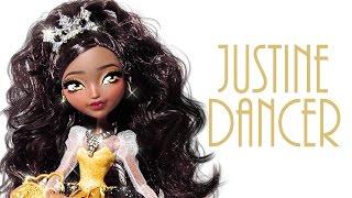 getlinkyoutube.com-Justine Dancer Doll Repaint [EVER AFTER HIGH]