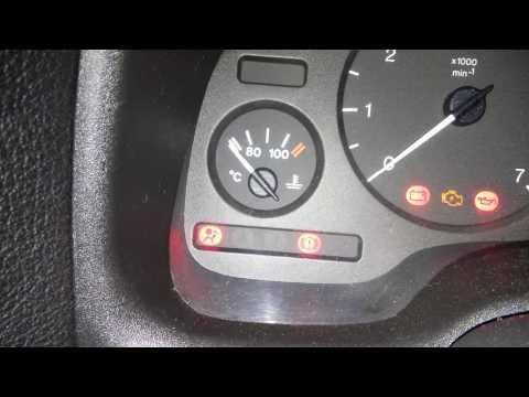 Чек подушек безопасности Opel Astra G